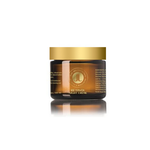 This crème contains Palmitoyl Tripeptide-5 which mimics skin's own collagen production mechanism, combating visible signs of aging related to collagen depletion.