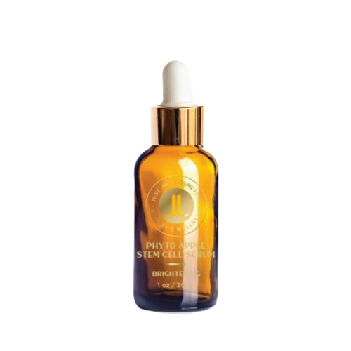 This dynamic Anti-oxidant Vitamin C serum offers a blend of five proven natural source skin brighteners to address dark spots and discoloration. With powerful age reversing Swiss Apple Stem Cells.