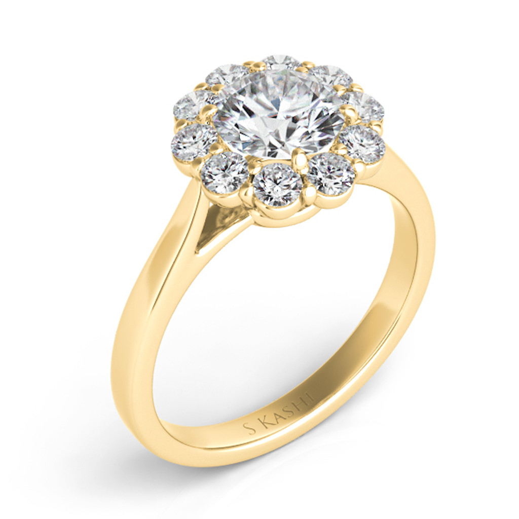 Diamond Engagement Ring  in 14K Yellow Gold    EN7376-1YG