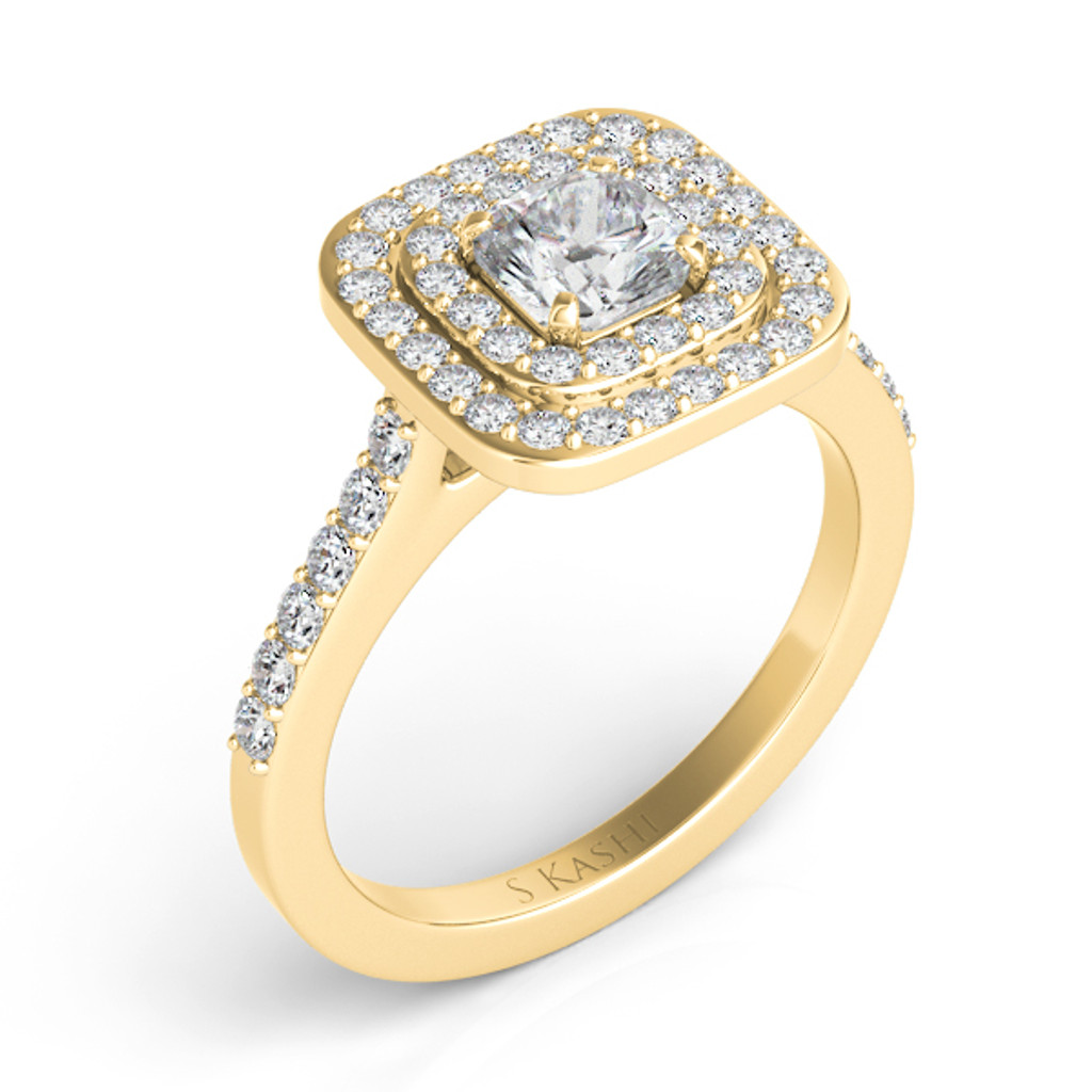 Diamond Engagement Ring  in 14K Yellow Gold    EN7449-4.5MYG