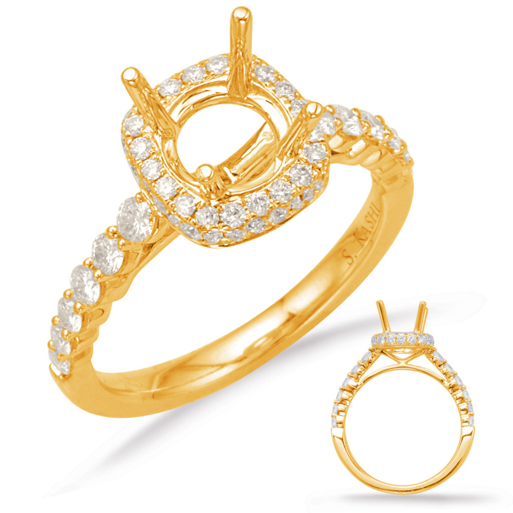 Diamond Engagement Ring  in 14K Yellow Gold    EN7996-1YG