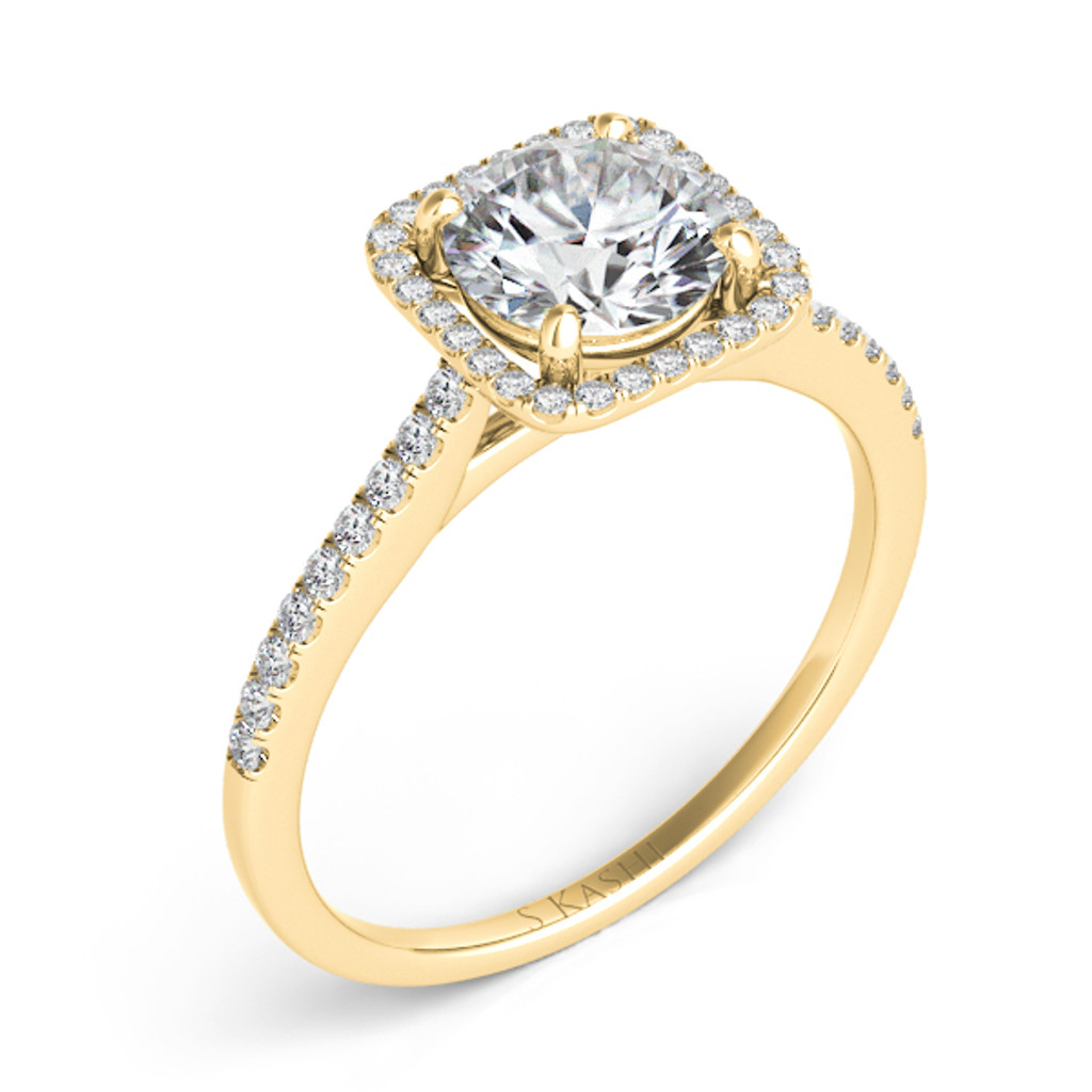 Diamond Engagement Ring  in 14K Yellow Gold    EN7330-2YG