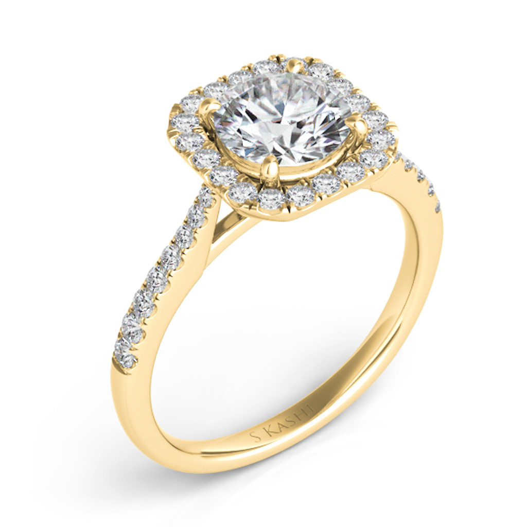 Diamond Engagement Ring  in 14K Yellow Gold    EN7400-75YG