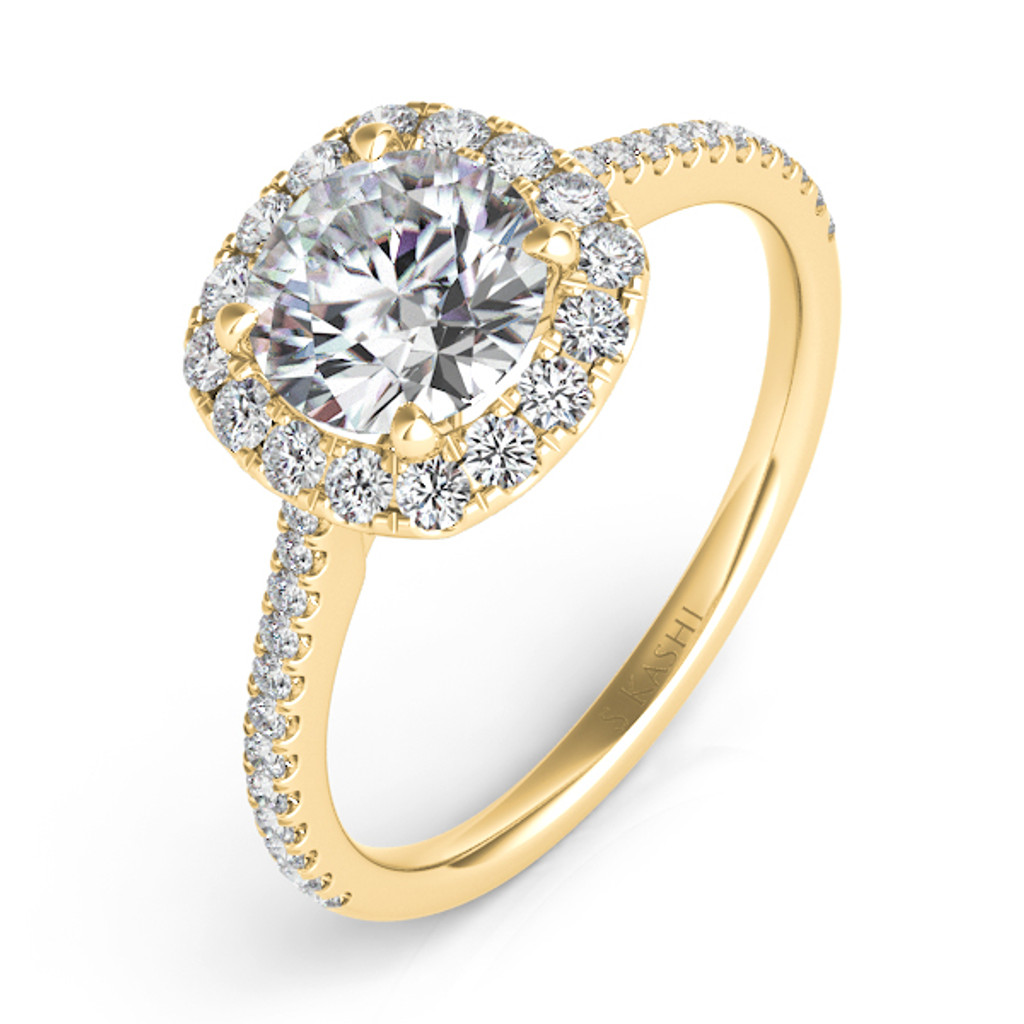 Diamond Engagement Ring  in 14K Yellow Gold    EN7508-15YG