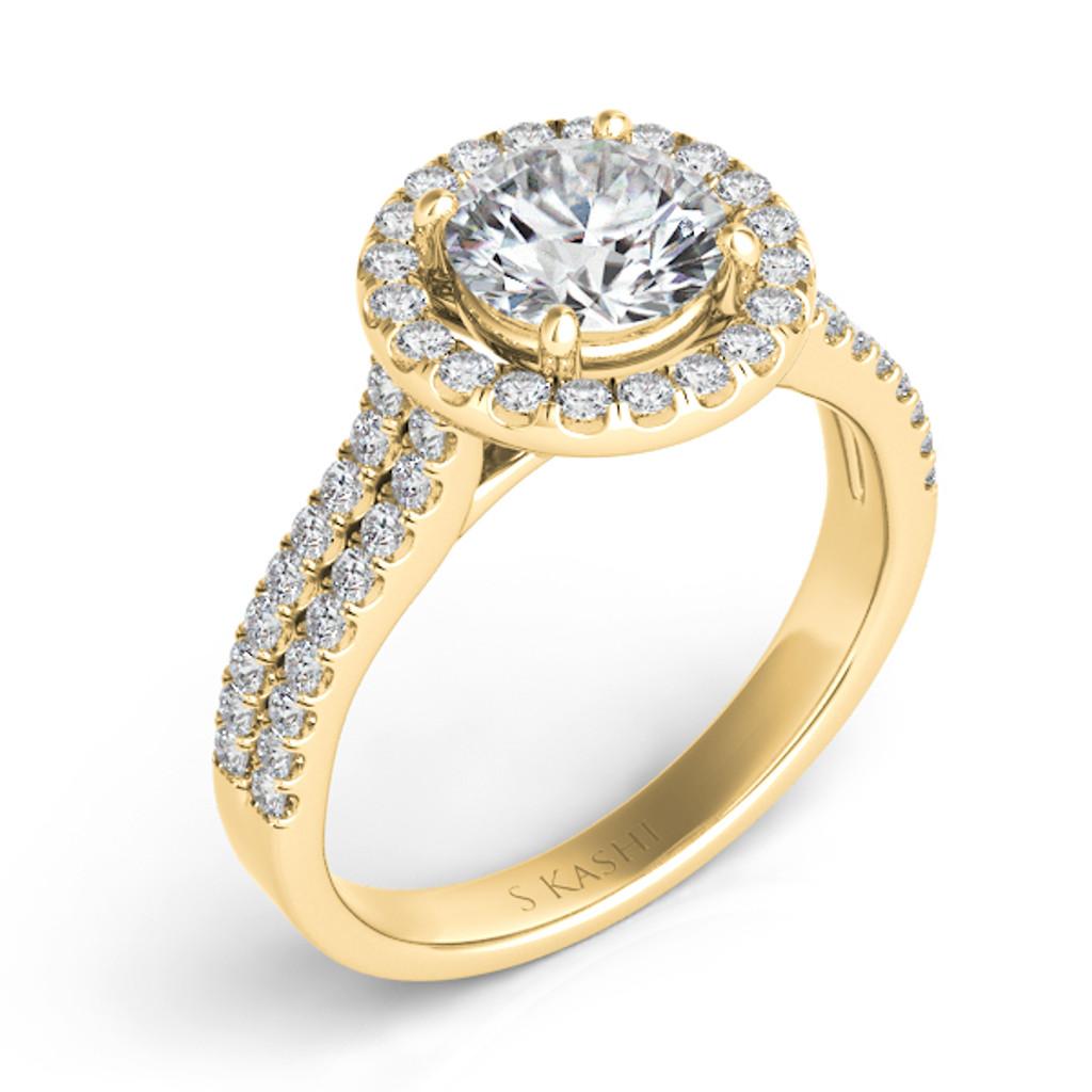 Diamond Engagement Ring  in 14K Yellow Gold    EN7571-50YG