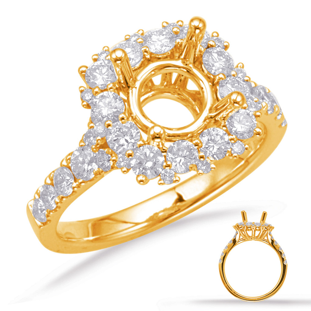 Diamond Engagement Ring  in 14K Yellow Gold    EN7717-125YG