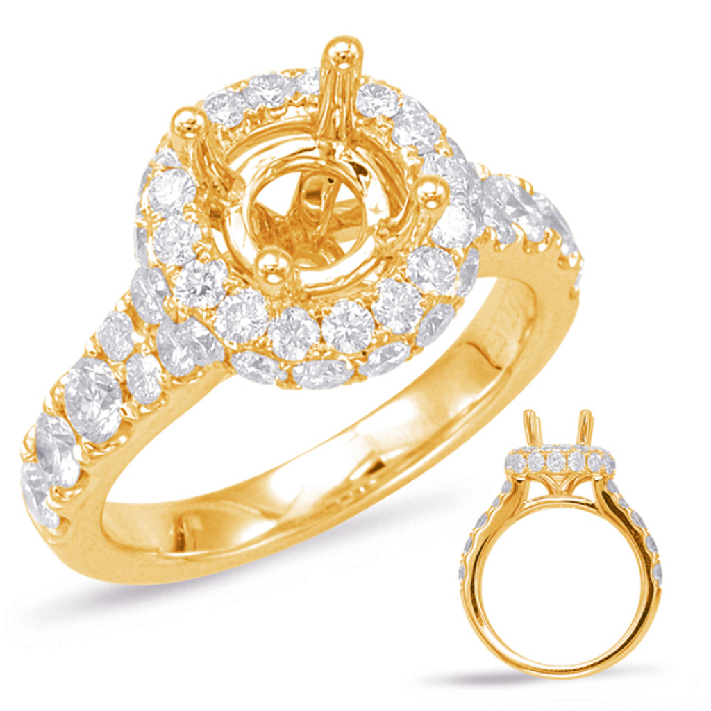 Diamond Engagement Ring  in 14K Yellow Gold    EN7844-15YG