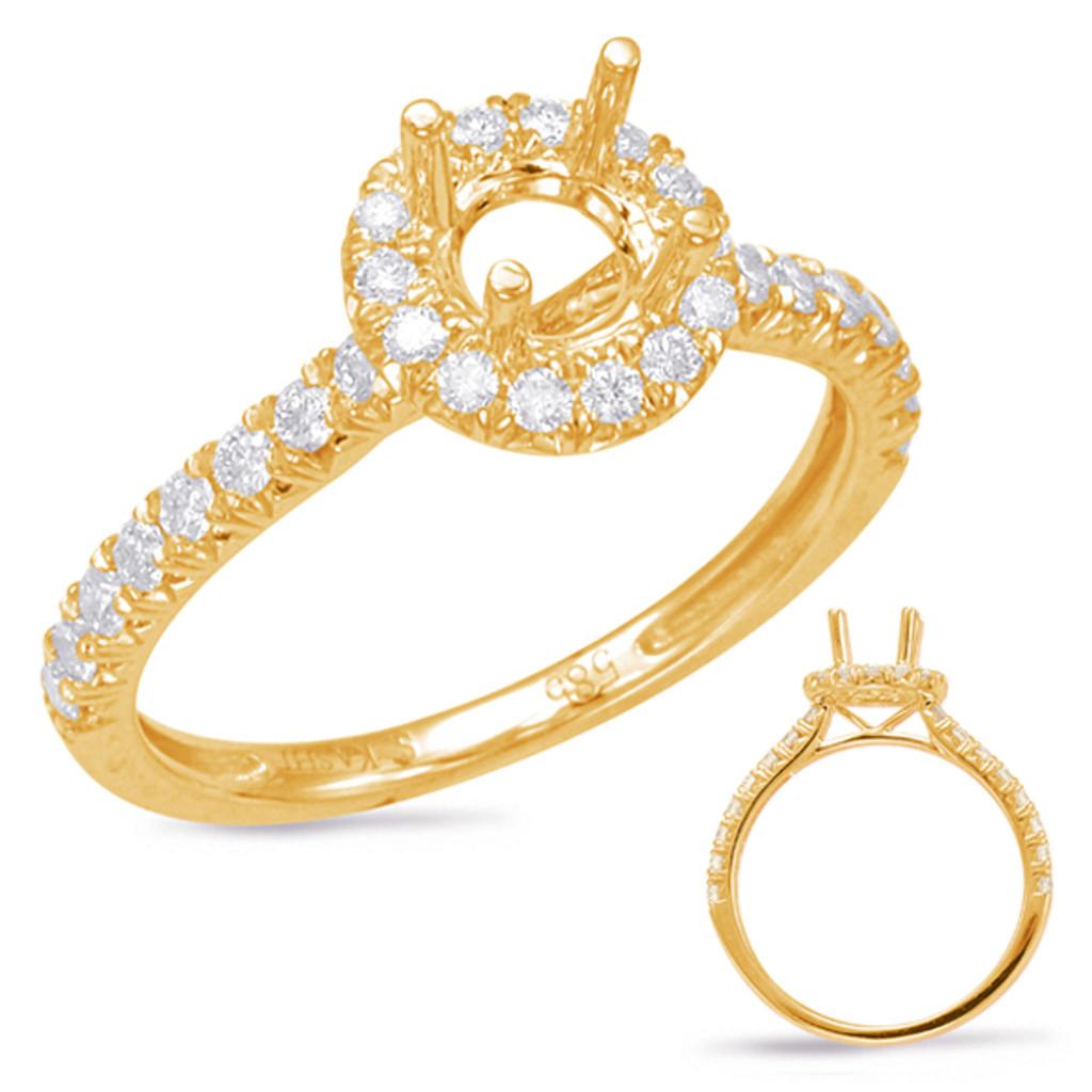 Diamond Engagement Ring  in 14K Yellow Gold    EN7849-50YG