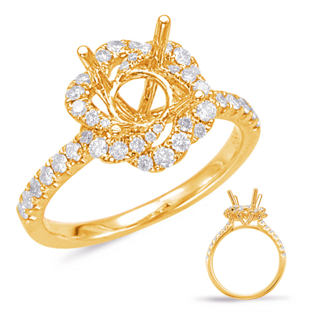 Diamond Engagement Ring  in 14K Yellow Gold    EN7923-1YG