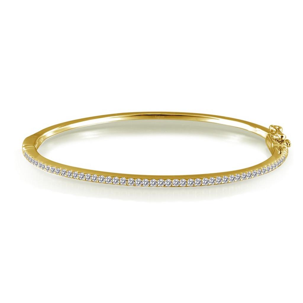 Lafonn's signature Lassaire simulated Diamond Bangle Bracelet B0030CLG