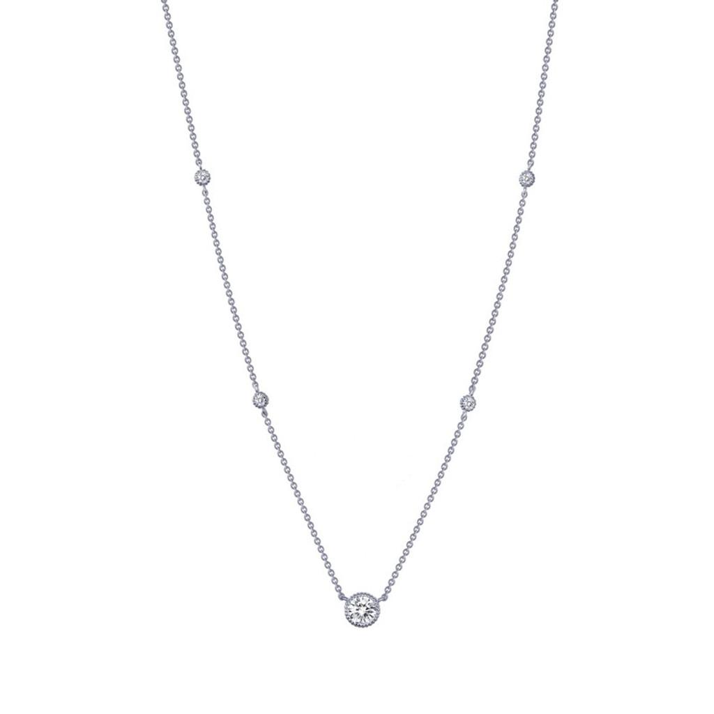 Lafonn's signature Lassaire simulated Diamond Necklace N0039CLP