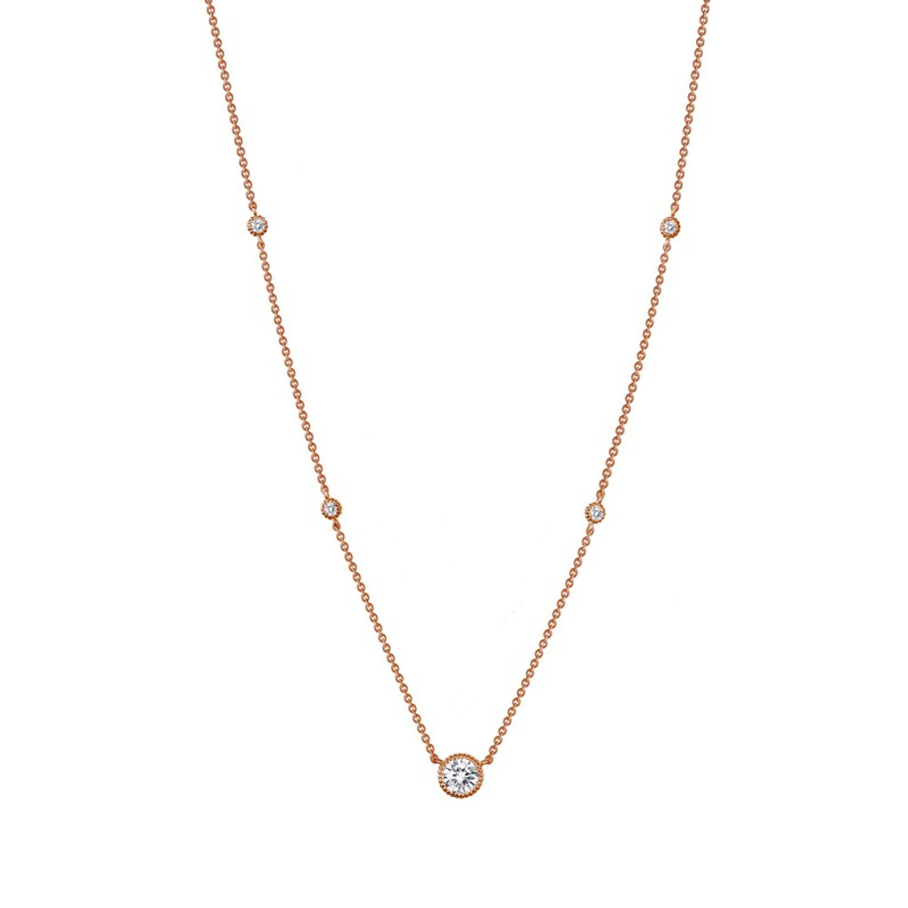Lafonn's signature Lassaire simulated Diamond Necklace N0039CLR