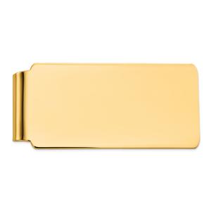 14KT Gold Men's Polished Money Clip