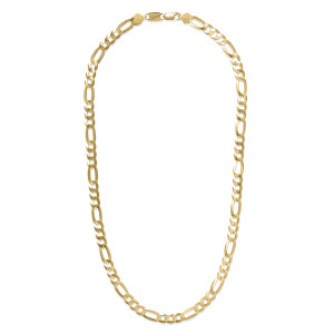 073 S FLAT Gold Plated Necklace