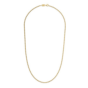 CP L TYPHOON Gold Plated Necklace