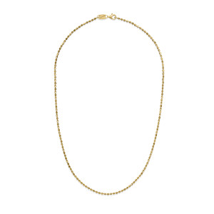CP S 1DC+1MIRROR Gold Plated Necklace