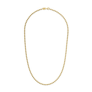 CP SLASH Gold Plated Necklace