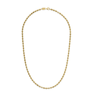 RICE HAMSA Gold Plated Necklace