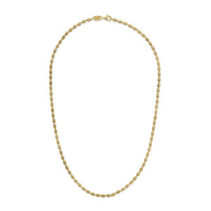 RICE TYPHOON Gold Plated Necklace