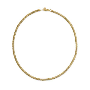SPRING OM1 TW Gold Plated Necklace