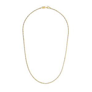 TUBE BRITE  -Gold Plated Necklace