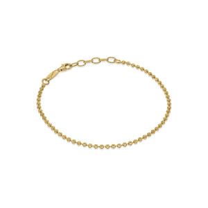 CP MOON Gold Plated Silver Bracelet.