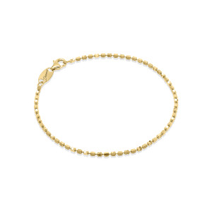CP S 1DC+1MIRROR Gold Plated Silver Bracelet.