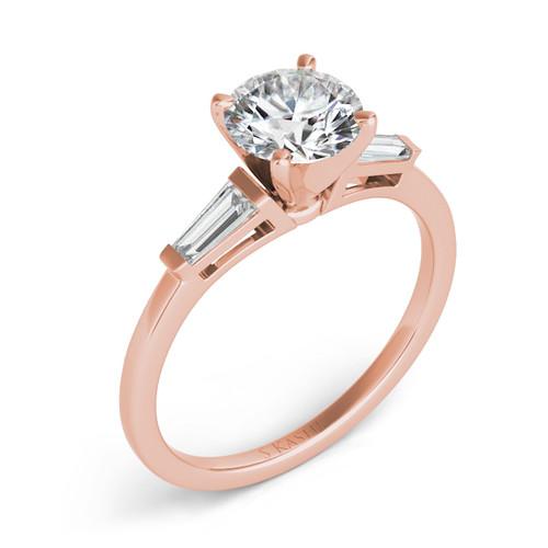 Diamond Engagement Ring  in 14K Rose Gold    EN1509-4.3MRG