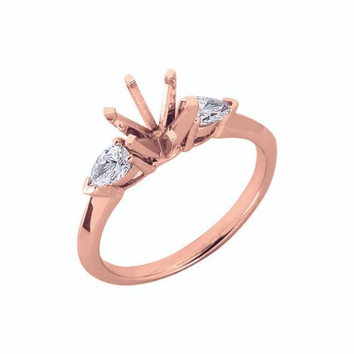 Diamond Engagement Ring  in 14K Rose Gold    EN1902RG