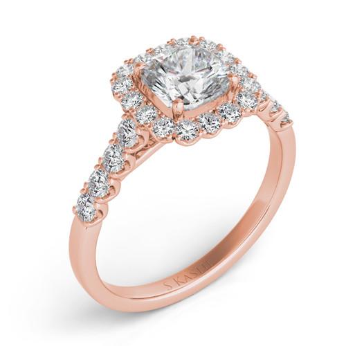 Diamond Engagement Ring  in 14K Rose Gold    EN7168-5.5MRG
