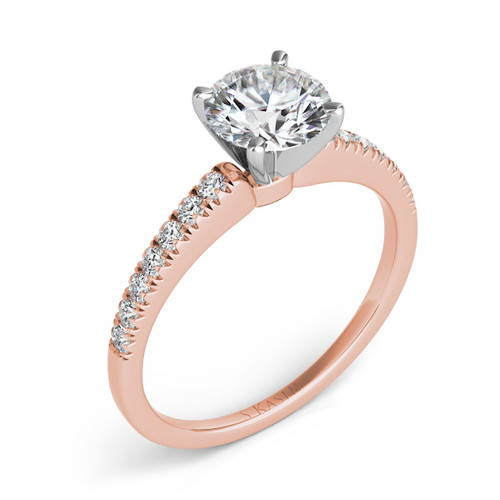 Diamond Engagement Ring  in 14K Rose Gold    EN7244RG