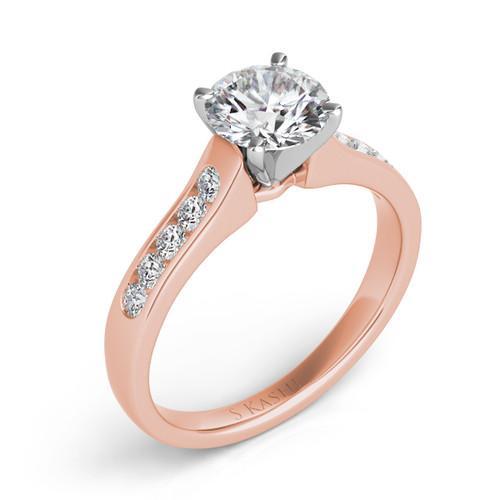 Diamond Engagement Ring  in 14K Rose Gold    EN7032RG