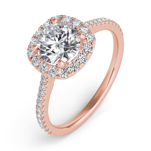 Diamond Engagement Ring  in 14K Rose Gold   EN7508-50RG