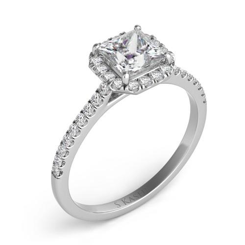 Diamond Engagement Ring  in 14K White Gold   EN7420-4.5MWG
