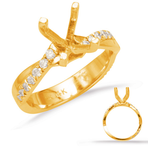 Diamond Engagement Ring  in 14K Yellow Gold    EN7983YG