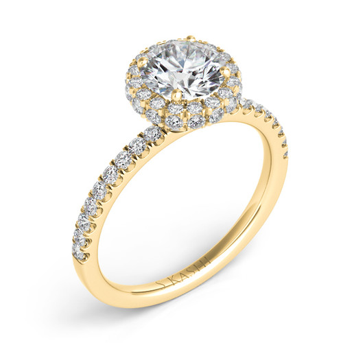 Diamond Engagement Ring  in 14K Yellow Gold    EN7322-15YG