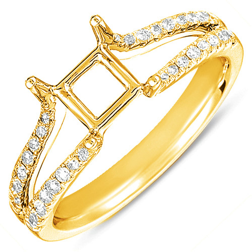 Diamond Engagement Ring  in 14K Yellow Gold    EN7364-15YG