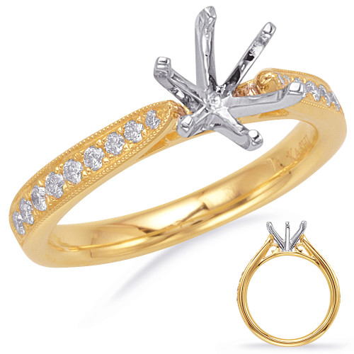 Diamond Engagement Ring  in 14K Yellow Gold    EN7744-15YG