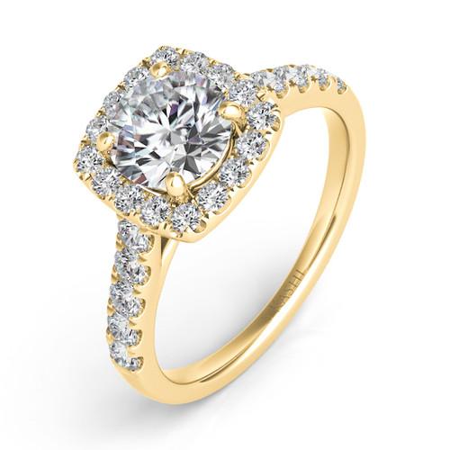 Diamond Engagement Ring  in 14K Yellow Gold    EN7452-15YG