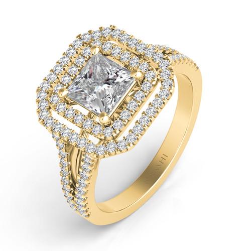 Diamond Engagement Ring  in 14K Yellow Gold    EN7477-4.0YG