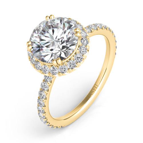 Diamond Engagement Ring  in 14K Yellow Gold    EN7600-75YG
