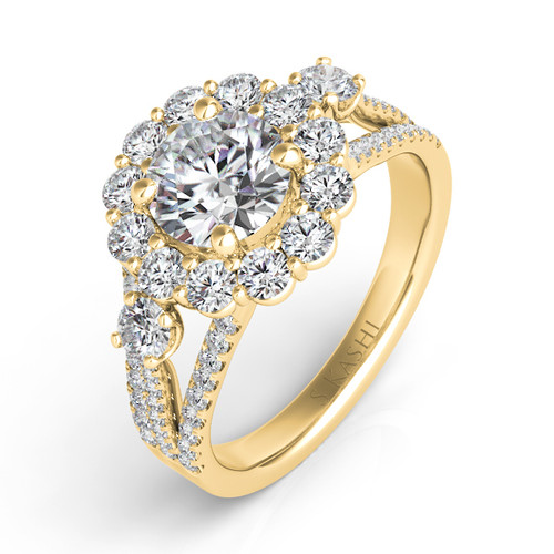 Diamond Engagement Ring  in 14K Yellow Gold    EN7415-2YG