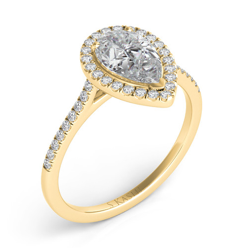 Diamond Engagement Ring  in 14K Yellow Gold    EN7519-6X4MYG