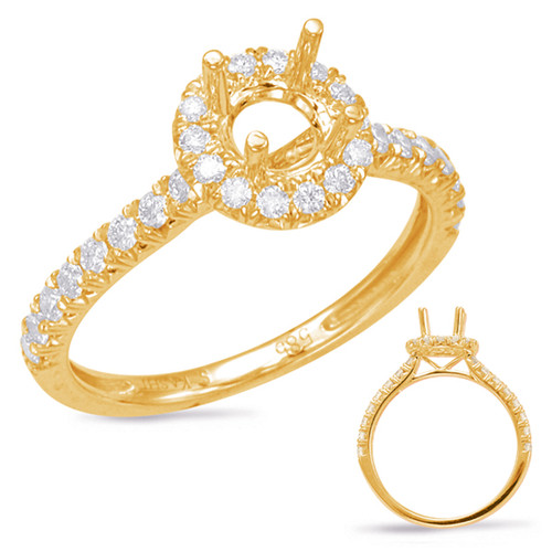 Diamond Engagement Ring  in 14K Yellow Gold    EN7849-50YG
