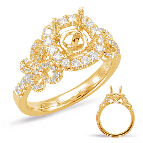 Diamond Engagement Ring  in 14K Yellow Gold    EN7865-1YG