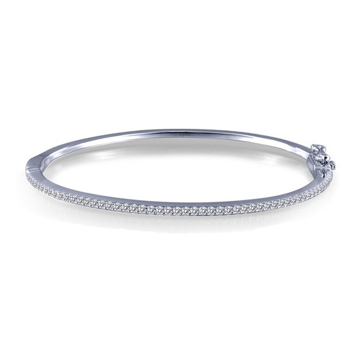 Lafonn's signature Lassaire simulated Diamond Bangle Bracelet B0030CLP