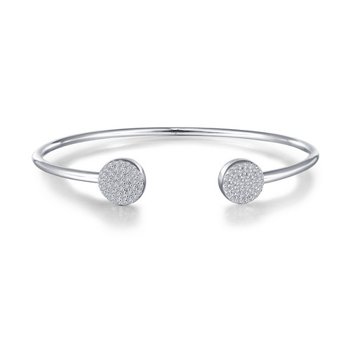 Lafonn's signature Lassaire simulated Diamond Bangle Bracelet B0036CLP
