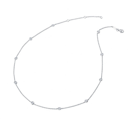 Lafonn's signature Lassaire simulated Diamond Necklace N0008CLP