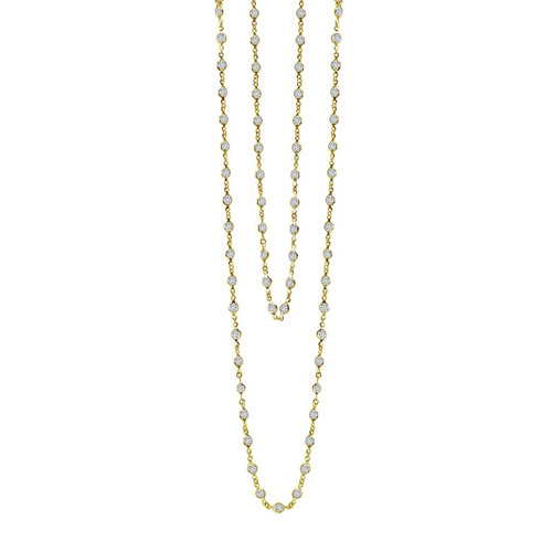 Lafonn's signature Lassaire simulated Diamond Necklace N0009CLG
