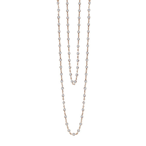 Lafonn's signature Lassaire simulated Diamond Necklace N0009CLR